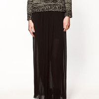 LONG PLEATED SKIRT - Collection - Skirts - Collection - Woman - ZARA United States