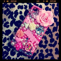 """Sweet Pink"" iPhone 4/4s Case *Free Shipping* from Caitlin's Bowtique"