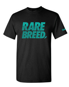 Freshletes  Rare Breed Tee - Black/Teal