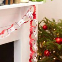 Rocking Rudolf Paper Chains | Festive Dining | Christmas | £4.99 - The Contemporary Home Online Shop