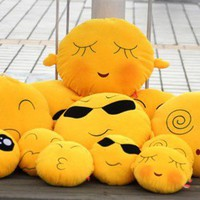 The Cute QQ Expression Pillow  - EVToys.com