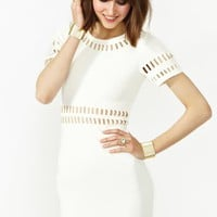 Moonbeam Dress - Ivory
