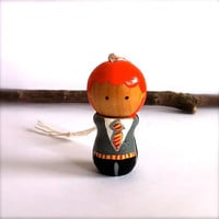 Ron Weasley of Harry Potter Christmas Tree by CreativeButterflyXOX