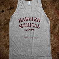 Harvard Medical (Just Kidding) Tank - Ivy League Jokes