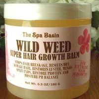 Wild Weed Super Hair Growth Formula /Soften and Moisturize Dry, Frizzy, Hard to Manage Hair/Anti-Br