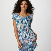 AE Printed Strappy Dress | American Eagle Outfitters