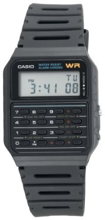 Casio Men&#x27;s CA53W Databank Calculator Watch: Watches: Amazon.com
