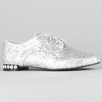 The Glennis Shoe in Silver : *Sole Boutique : Karmaloop.com - Global Concrete Culture