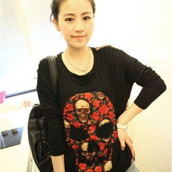 Korean Fashion T-SHIRT S...
