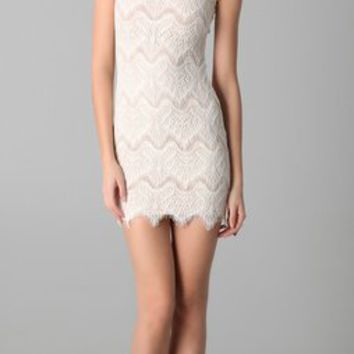 Nicholas Rebecca Chantilly Lace Dress
