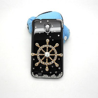 Handmade hard case for Samsung Epic 4G Touch: Bling Rudder (customized are welcome)