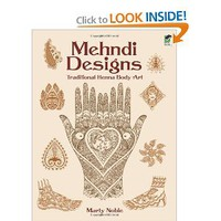Mehndi Designs: Traditional Henna Body Art (Dover Pictorial Archive): Marty Noble: 9780486438603: Amazon.com: Books