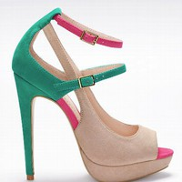 Mary Jane Platform Pump