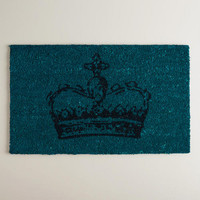Blue Crown Pagoda Doormat