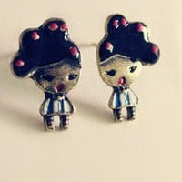 Vintage Cute Girls Stud Earrings at Online Jewelry Store Gofavor