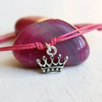 Crown Bracelet / Crown Anklet (28 colors to choose)