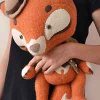 Art Toy Sherlock Fox by MarieChou on Etsy