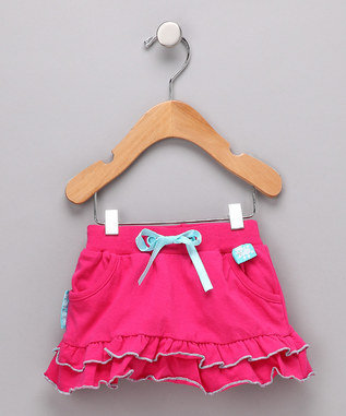 Rockin' The Rainbow Collection - Dark Pink Poodle Skirt