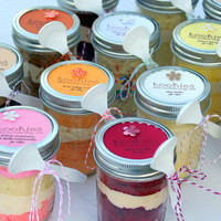Jar Cake Lovers PickYourOwn 4 Pack by tookies on Etsy