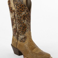 Ariat Legend Leopard Western Boot
