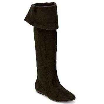 decree skyler cuffed boots boots from jcpenney shoes