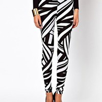 ASOS Legging in Tribal Print at asos.com