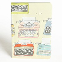 written words typewriter eco-journal by Julia Rothman at ShopRuche.com, Vintage Inspired Clothing, Affordable Clothes, Eco friendly Fashion