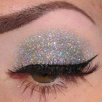 Silver Streak Glitter