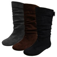 Glaze by Adi Microsuede Slouchy Tall Boot