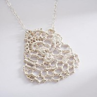 Abundant French Lace Pendant