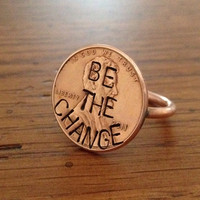 Penny Ring (Original) &#x27;Be The Change&#x27; Edition - Customizable