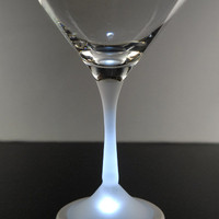 Real Glass Light Up Martini Glass