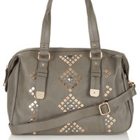 Geo Studded Holdall - Bags &amp; Wallets  - Accessories