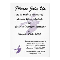 Mean Dragon light purple.png Personalized Invitation from Zazzle.com