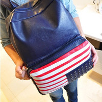 Fashion the Stars and the Stripes Backpack Bag