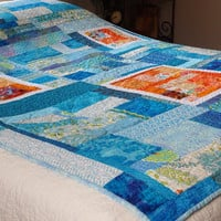 Modern Quilt - Sunday Morning Splash