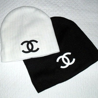 SALE TopTeezShirts &quot;CC Chanel &quot; Beanie Black
