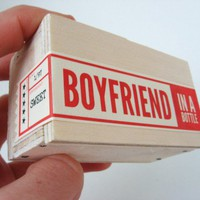 Boyfriend in a Bottle (tm) - Ships Jan. 14th