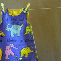 Happy elephants organic cotton baby sleeping bag 06 by pickurcolor