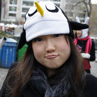 Gunter  Adventure Time Fleece Hat Anime Manga Cosplay Rave Skiing Snowboarding Video Game
