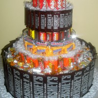 It's a BIG Candy Cake.