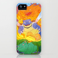 Pokemon iPhone Case by Weissidian | Society6