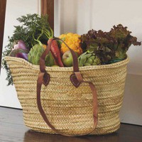 Double Handled Market Basket - VivaTerra