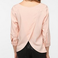 Pins and Needles Tulip Back Blouse