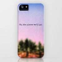 Oh, the Places We&#x27;ll Go iPhone Case by Olivia Joy StClaire | Society6