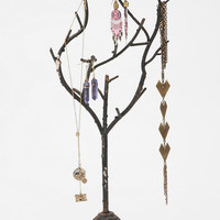 Flower Base Branch Jewelry Stand