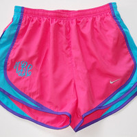 Monogrammed Nike Running Shorts for Women by LittleCharmsDesigns