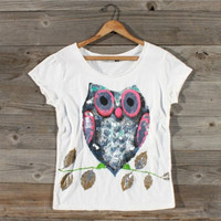 Cozy Owl Tee, Sweet Country Inspired Clothing