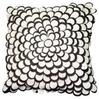 One Kings Lane - Prints & Patterns - Divine Design Florette Pillow, Aubergine