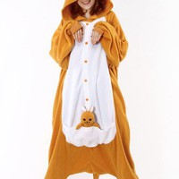 Adult Kangaroo Costume Pajamas